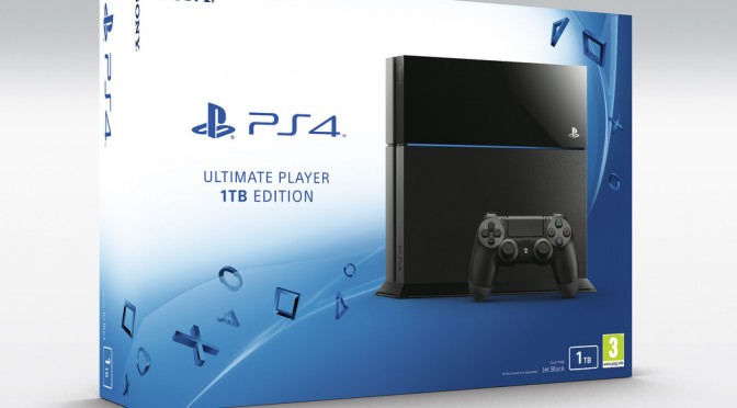 PS4 1TB Edition Launches in Europe This July 15th