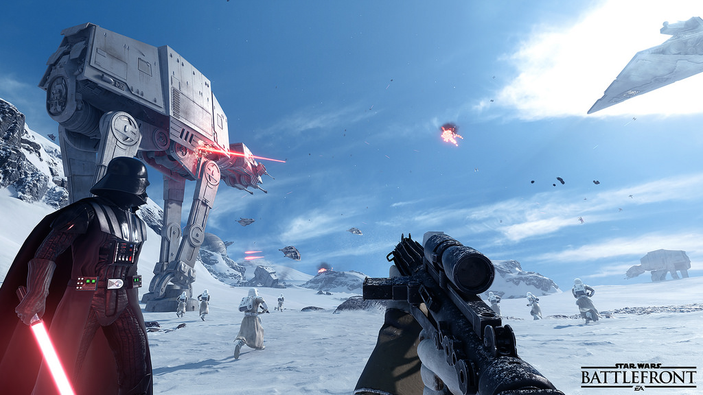 Star Wars Battlefront Beta Coming in Early October for PS4, Xbox One and PC