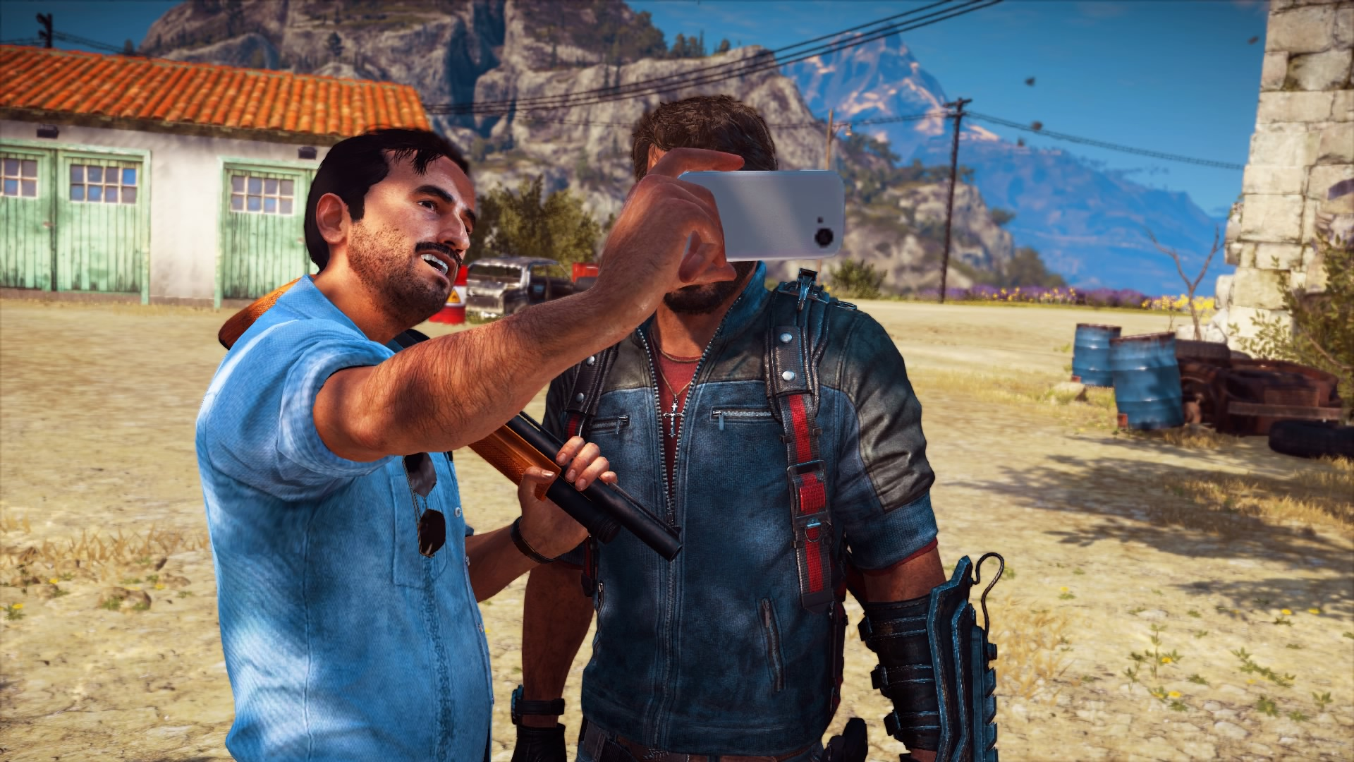 49 Direct-Feed HD Just Cause 3 PS4 Screenshots: Explosions, Helicopters and… Selfies