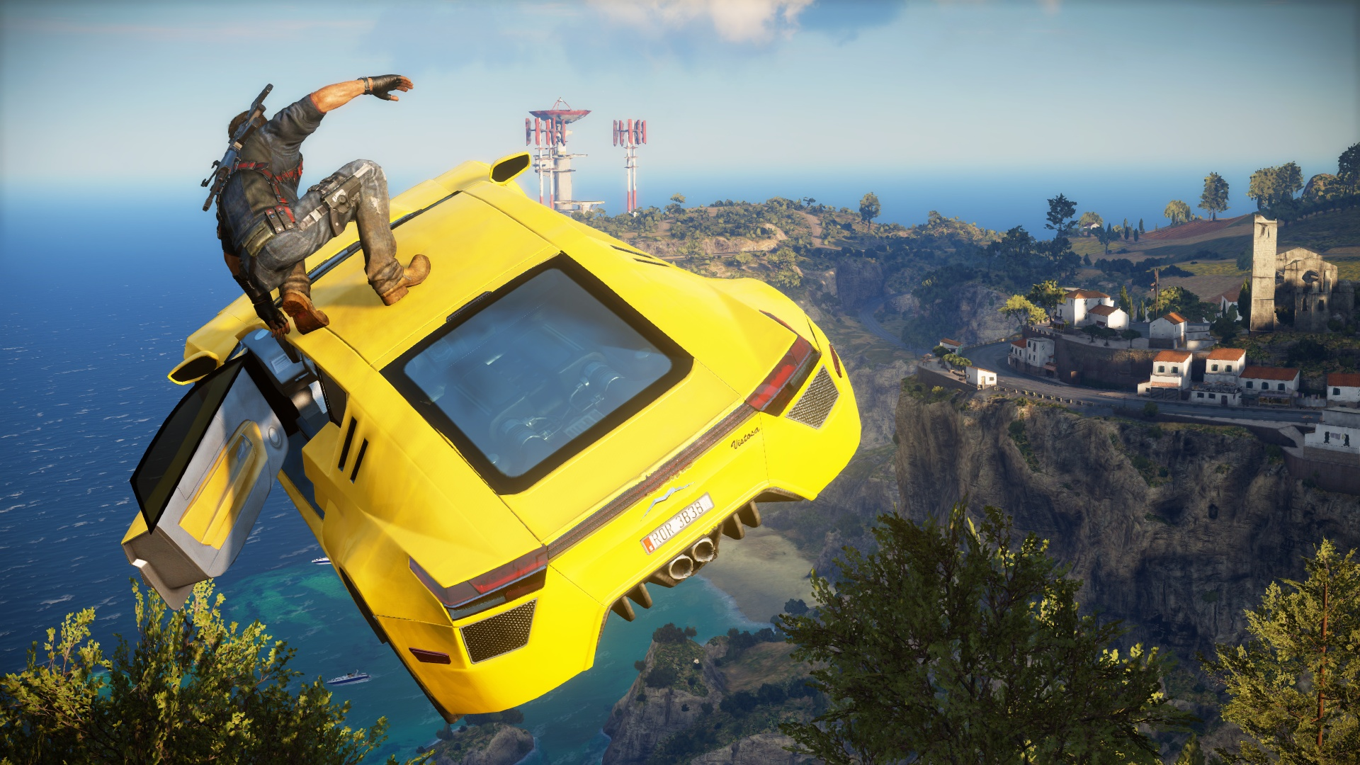 "Pre-Order Just Cause 3 and Get a ""VR Headset"" Free"