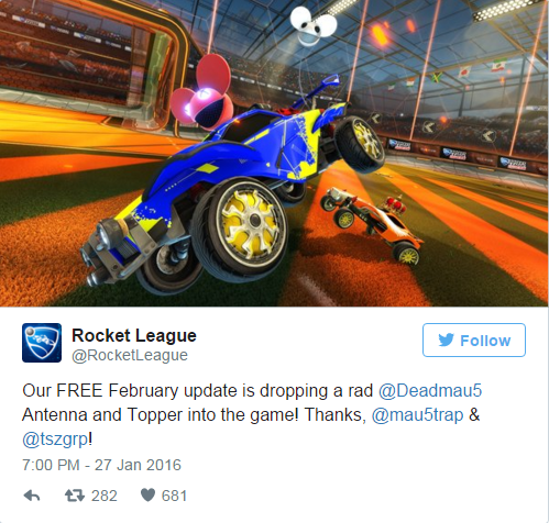 deadmau5 rocket league