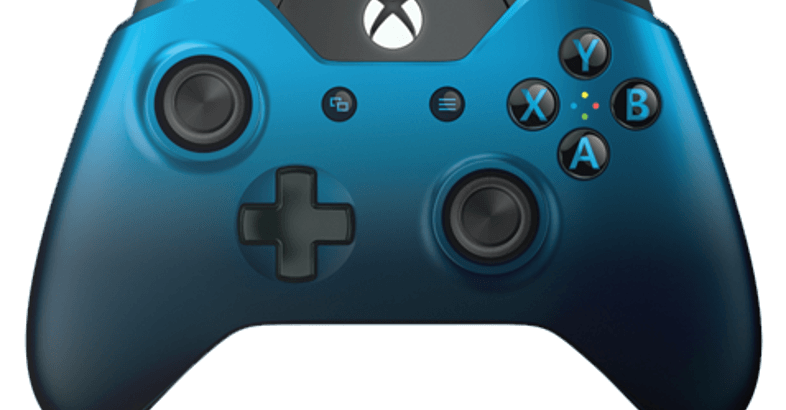 Xbox One controller dusk shadow